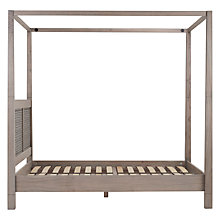 Buy John Lewis Flores 4 Poster Bedstead, Super Kingsize Online at johnlewis.com