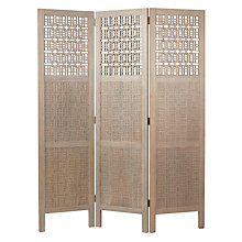 Buy John Lewis Flores 3 Panel Screen Online at johnlewis.com