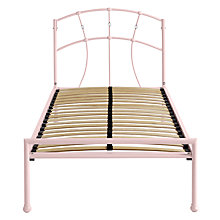 Buy Silentnight Poppy Bed Frame, Single Online at johnlewis.com