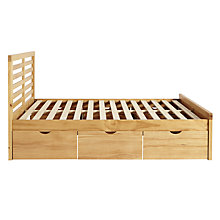 Buy John Lewis Nevada Storage Bed, Kingsize Online at johnlewis.com