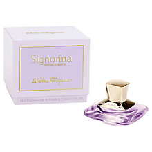 Buy Salvatore Ferragamo Signorina Eau de Toilette Gift Mini Online at johnlewis.com
