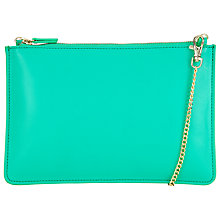 Buy COLLECTION by John Lewis Clutch Pouch, Jade Green Online at johnlewis.com