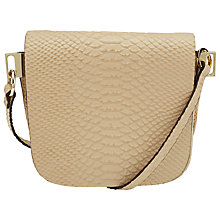 Buy COLLECTION by John Lewis Logan Cross Body Bag, Cream Online at johnlewis.com