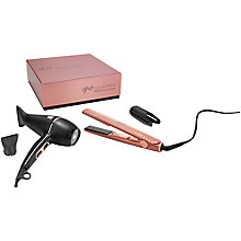 Buy ghd Deluxe Gift Set, Rose Gold Online at johnlewis.com