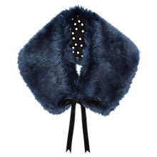 Buy Jigsaw Faux Fur Tippet Online at johnlewis.com