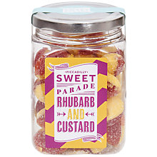 Buy Piccadilly Sweet Parade Rhubarb and Custard Sweet Jar, 200g Online at johnlewis.com