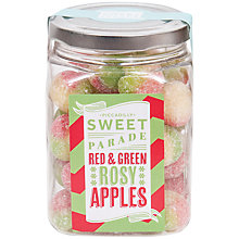 Buy Piccadilly Sweet Parade Red and Green Rosy Apples Jar, 200g Online at johnlewis.com