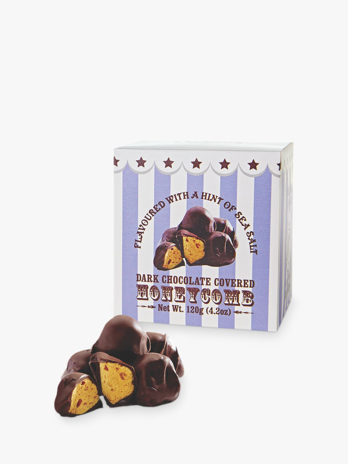 Mr Stanley's Mr Stanley's Dark Chocolate Salted Caramel Honeycomb, 120g