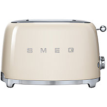 Buy Smeg TSF01 2-Slice Toaster Online at johnlewis.com