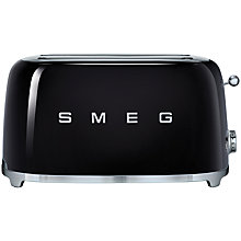 Buy Smeg TSF02 4-Slice 2-Slot Toaster Online at johnlewis.com