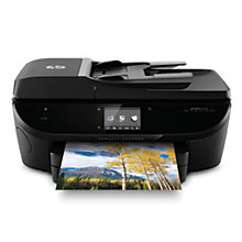 Buy HP Envy 7640 All-in-One Wireless Printer & Fax Machine with Paper & Ink Cartridge Online at johnlewis.com