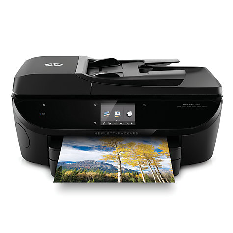 buy hp envy 7640 all in one wireless printer fax machine hp instant ink compatible john lewis. Black Bedroom Furniture Sets. Home Design Ideas
