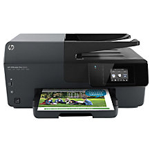 Buy HP Officejet Pro 6830 e-All-in-One Printer & Fax Machine, Instant Ink Compatible & HP Instant Ink Delivery Enrolment Kit, 300 Pages Online at johnlewis.com