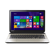 "Buy Toshiba Satellite L50t-B-13G Laptop, Intel Core i7, 8GB RAM, 1TB, 15.6"" Touch Screen + Target City Smart Slipcase Online at johnlewis.com"