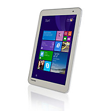 "Buy Toshiba Encore 2 WT8-B-102 Tablet, Intel Atom, Windows 8.1 & Office 365 Subscription, 8"", Wi-Fi, 32GB Online at johnlewis.com"