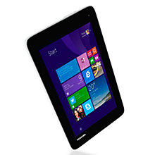 "Buy Toshiba Encore Mini WT7-C-100 Tablet, Intel Atom, Windows 8.1 & Office 365 Subscription, 7"", Wi-Fi, 16GB Online at johnlewis.com"