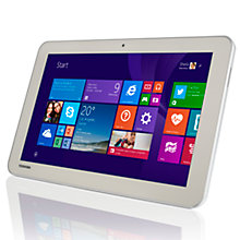 "Buy Toshiba Encore 2 WT10-A-102 Tablet, Intel Atom, Windows 8.1 & Office 365, 10.1"", Wi-Fi, 32GB Online at johnlewis.com"
