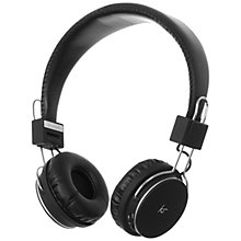 Buy KitSound Manhattan On-Ear Bluetooth Headphones with Mic/Remote Online at johnlewis.com