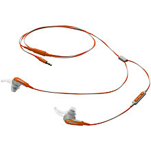 Buy Bose® SoundSport™ In-Ear Headphones with Mic/Remote for Apple Devices Online at johnlewis.com