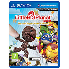 Buy LittleBigPlanet Marvel Super Hero Edition, PS Vita Online at johnlewis.com