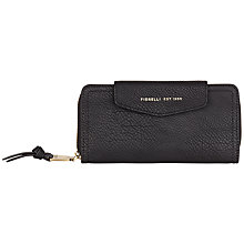 Buy Fiorelli Beth Large Tab Purse, Black Online at johnlewis.com