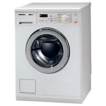 Buy Miele WT2796 Washer Dryer, 6kg Wash/3kg Dry Load, A Energy Rating, 1600rpm Spin, White Online at johnlewis.com