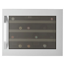 Buy John Lewis JLWF610 Wine Cabinet, Stainless Steel Online at johnlewis.com