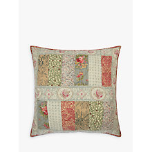Buy John Lewis Gracie Floral Patchwork Large Cushion Online at johnlewis.com