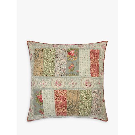 buy john lewis gracie floral patchwork large cushion. Black Bedroom Furniture Sets. Home Design Ideas