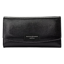 Buy Aspinal of London Brook Street Purse with Metal Crest Online at johnlewis.com