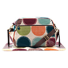 Buy Sophia and Matt Big Spot Changing Bag, Beige/Multi Online at johnlewis.com