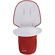 Buy Nuna IVVI Footmuff & Seat Liner, Ruby Online at johnlewis.com