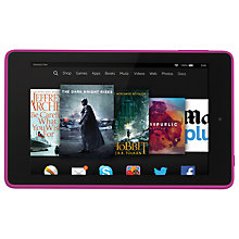 "Buy New Amazon Kindle Fire HD 6 Tablet, Quad-core, Fire OS, 6"", 16GB Online at johnlewis.com"