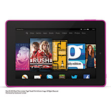 "Buy Amazon Fire HD 7 Tablet, Quad-core, Fire OS, 7"", Wi-Fi, 16GB Online at johnlewis.com"