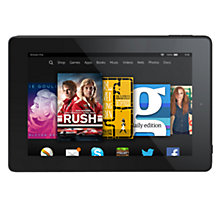 "Buy New Amazon Kindle Fire HD 7 Tablet, Quad-core, Fire OS, 7"", 8GB Online at johnlewis.com"