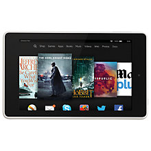 "Buy Amazon Fire HD 6 Tablet, Quad-core, Fire OS, 6"", Wi-Fi, 16GB Online at johnlewis.com"