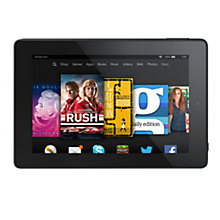 "Buy New Amazon Kindle Fire HD 7 Tablet, Quad-core, Fire OS, 7"", 16GB Online at johnlewis.com"