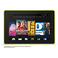 "Buy Amazon Fire HD 7 Tablet, Quad-core, Fire OS, 7"", Wi-Fi, 8GB Online at johnlewis.com"