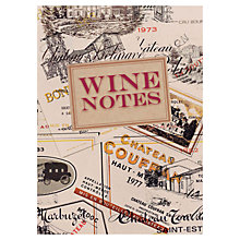 Buy Ryland Peters & Small Wine Notes Journal Online at johnlewis.com
