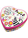 Rachel Ellen Cat and Bird Heart Tin