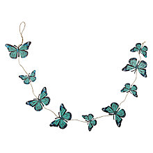 Buy Vivid Butterfly Garland, 1m Online at johnlewis.com