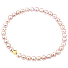 Buy A B Davis Freshwater Pearl Stretch Bracelet Online at johnlewis.com