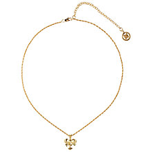 Buy Susan Caplan Vintage 1990s Givenchy Bow Pendant, Gold Online at johnlewis.com
