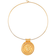 Buy Susan Caplan Vintage 1980s Bruce Oldfield Pendant, Gold Online at johnlewis.com