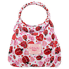 Buy Lelli Kelly Ladybird Bag, White/Red Online at johnlewis.com