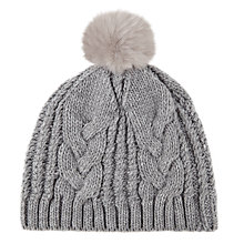 Buy Kaliko Faux Fur Bobble Hat Online at johnlewis.com