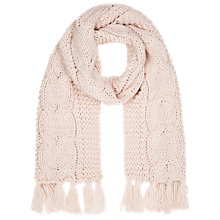 Buy Kaliko Cable Knit Scarf Online at johnlewis.com