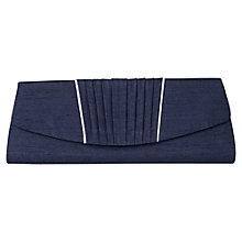 Buy Jacques Vert Overlay Clutch, Navy Online at johnlewis.com