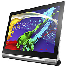 "Buy Lenovo Yoga Tablet 2 Pro 13, Intel Atom, Android, 13.3"", Wi-Fi, 32GB, Silver Online at johnlewis.com"