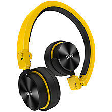 Buy AKG Y40 Closed-Back On-Ear Headphones with Microphone Online at johnlewis.com